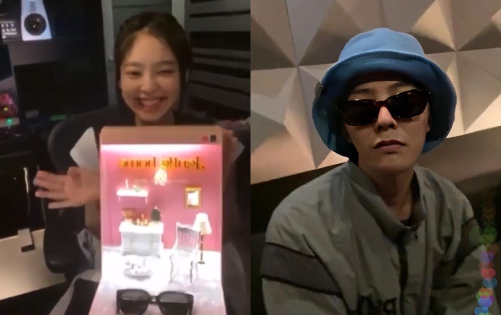 Jennie livestream lúc nửa đêm cùng BLACKPINK, sự xuất hiện của G-Dragon gây náo loạn