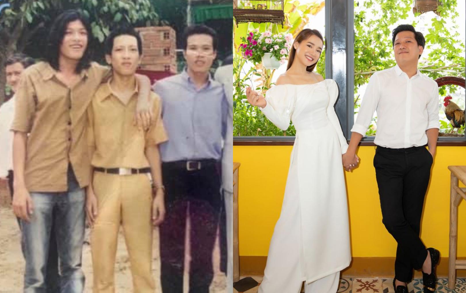 """Nhã Phương đăng ảnh hiếm thời trẻ của Trường Giang, khẳng định:  """"Dù 20 hay 30 năm, anh xã của em vẫn rất ư là chất"""""""