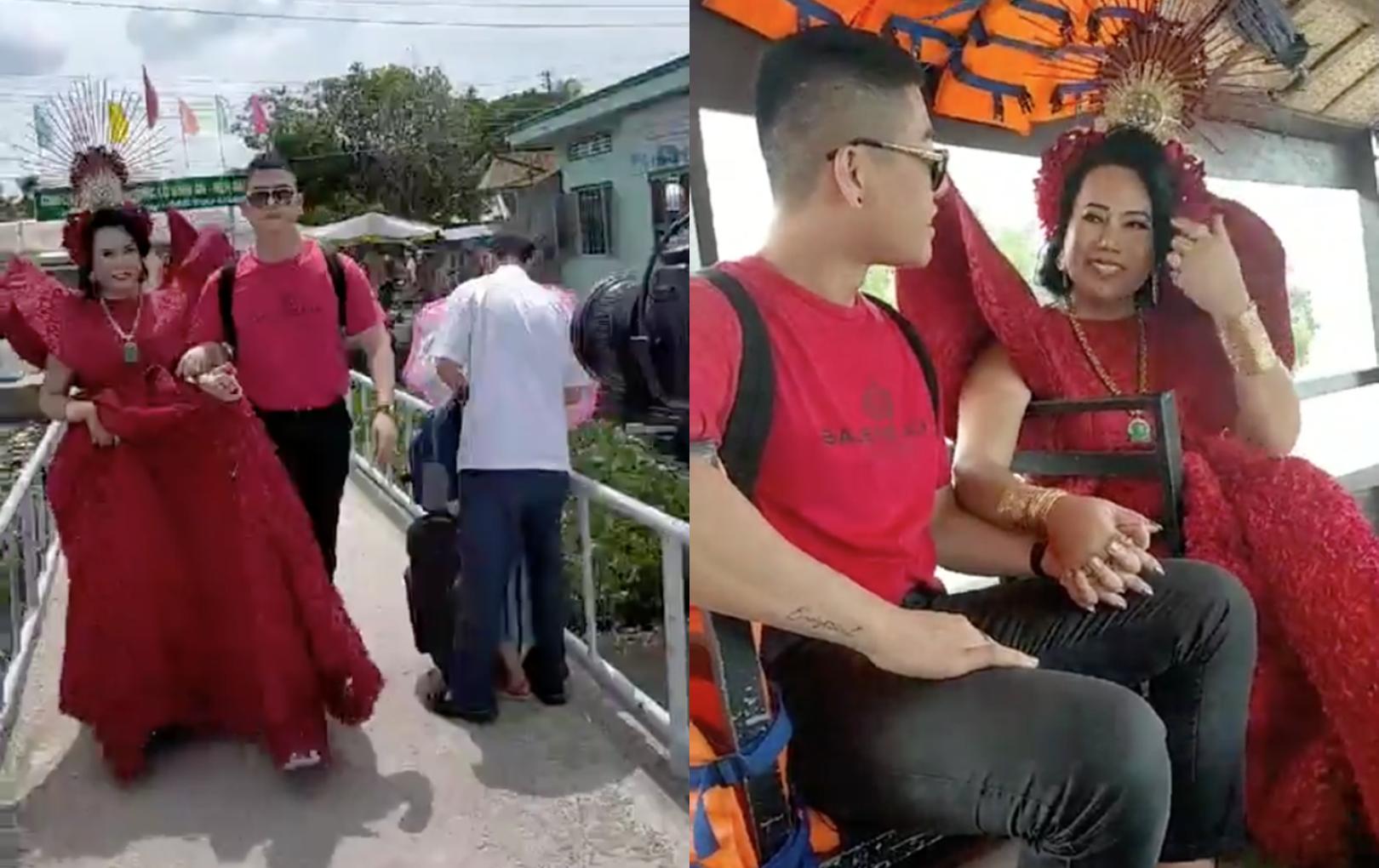 Cô Minh Hiếu bất ngờ giới thiệu chồng sắp cưới, nắm tay nhau không rời