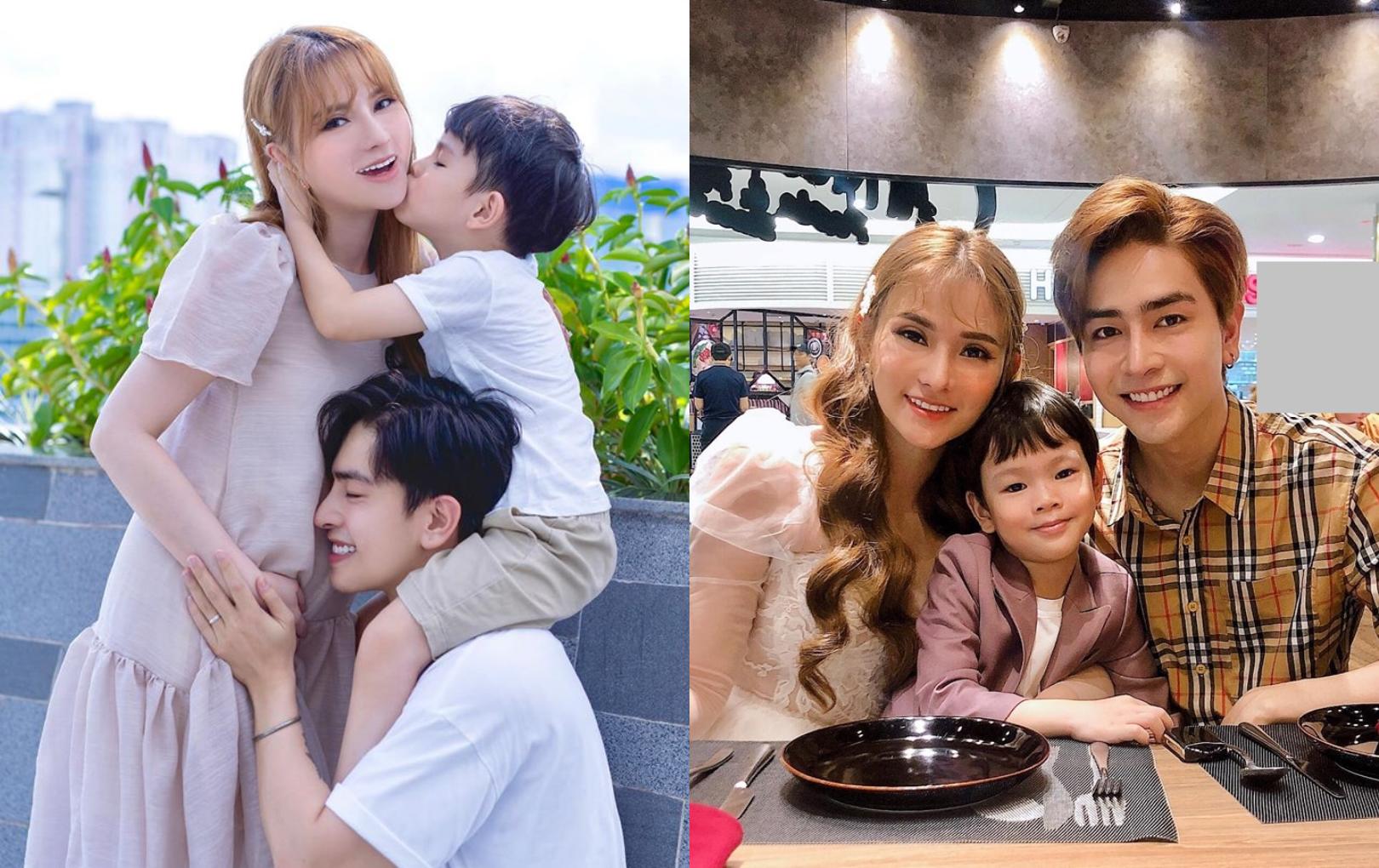 Thu Thủy xác nhận đang mang thai 5 tháng với chồng trẻ kém 10 tuổi