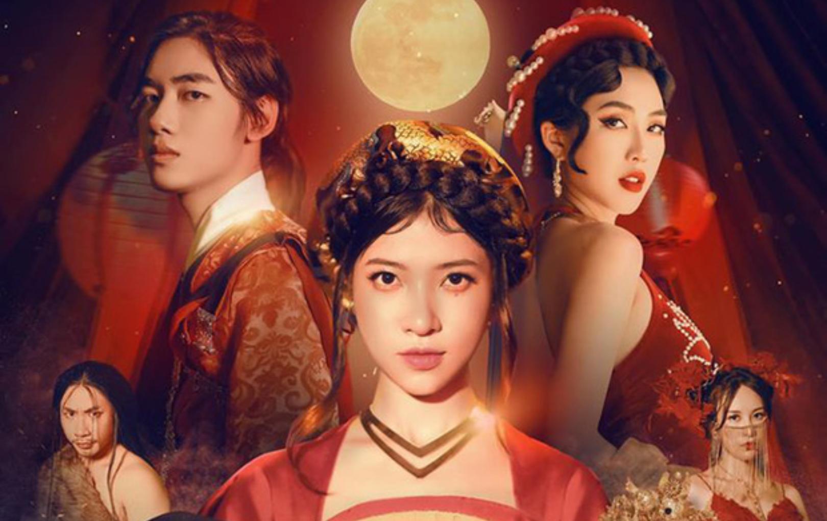 """K-ICM tung poster comeback kết hợp với giọng ca """"Túy âm"""", tạo hình cổ trang gây chú ý"""