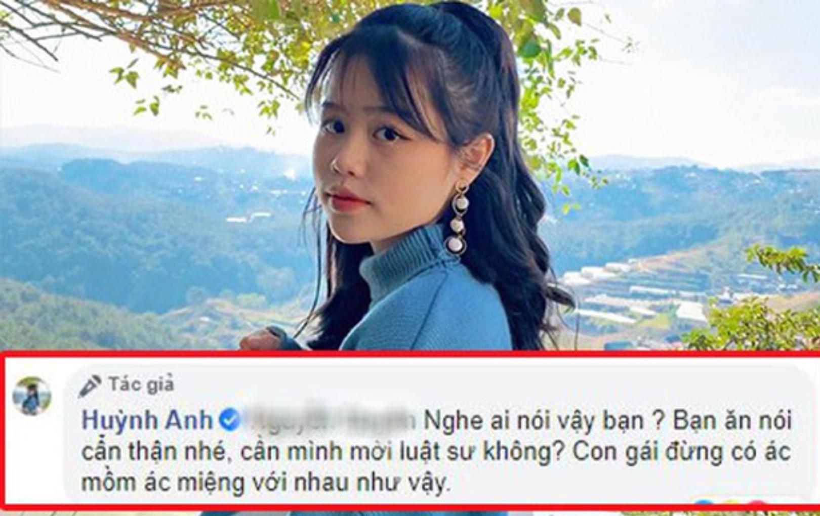 """Huỳnh Anh (bạn gái Quang Hải) muốn """"mời luật sư"""" khi bị anti-fan làm phiền trên Facebook cá nhân"""