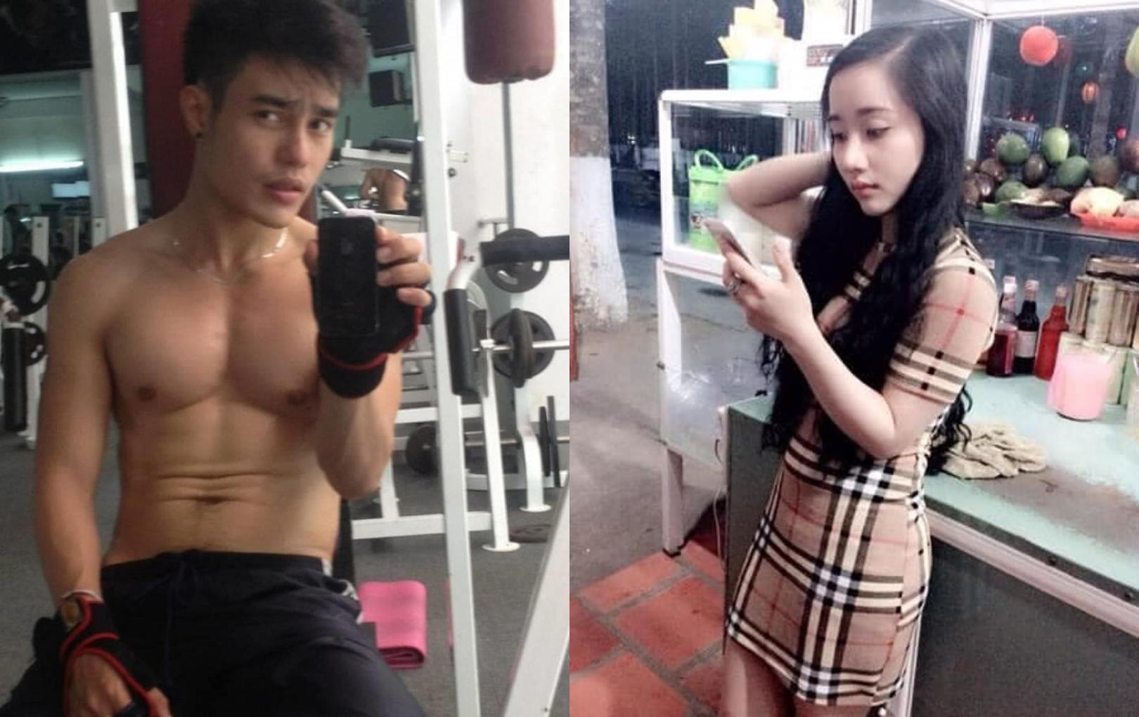Lê Dương Bảo Lâm khoe ảnh năm 20 tuổi của mình và bà xã, nhan sắc và thân hình khiến ai cũng choáng