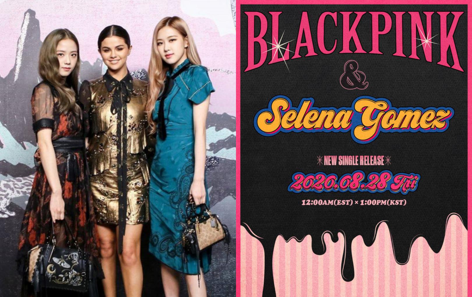 """HOT: BLACKPINK """"chốt đơn"""" kết hợp với Selena Gomez trong single mới, bao nhiêu """"thính"""" về Ariana Grande vậy là... """"ra chuồng gà"""""""