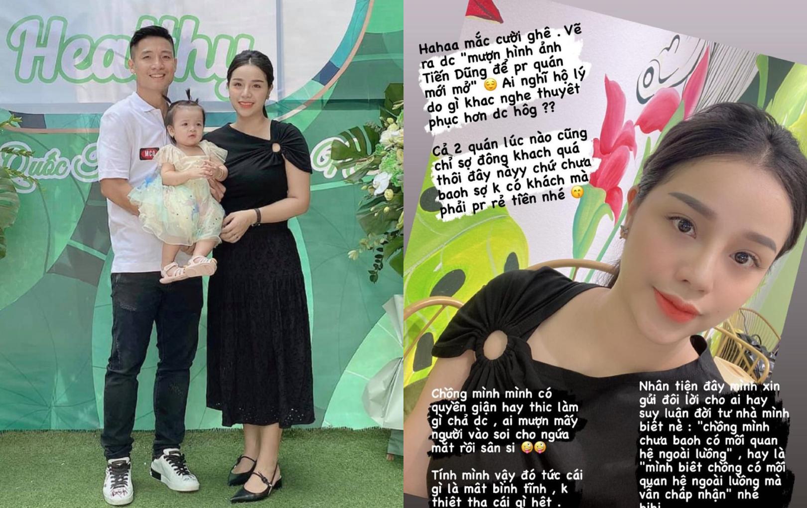 Khánh Linh đáp trả cực căng khi bị tố tạo drama hôn nhân với Tiến Dũng để PR
