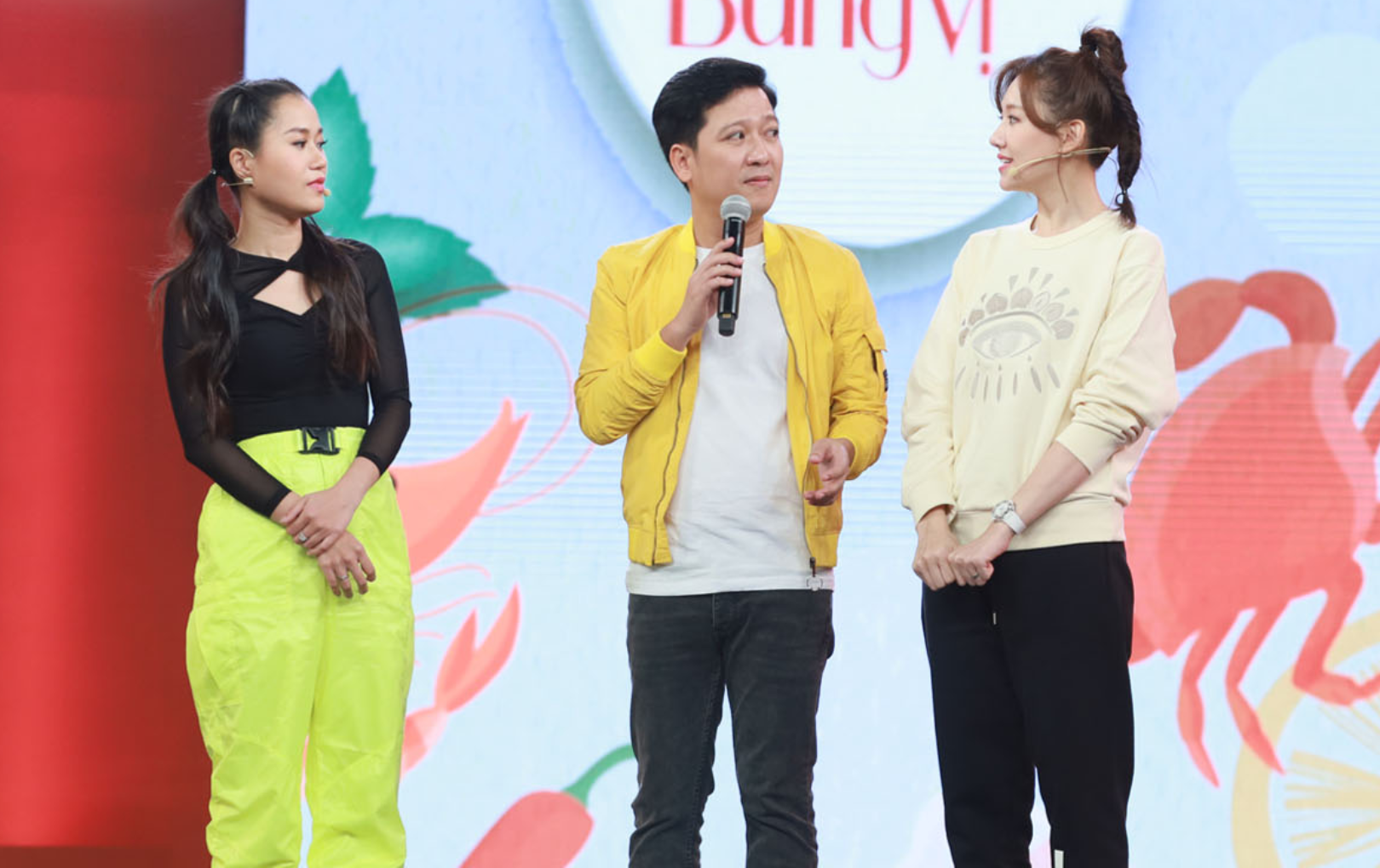"""Trường Giang cà khịa Hari Won: """"Ông trời cho Hari Won đẹp, hát hay nhưng đâu có cho rành tiếng Việt"""""""