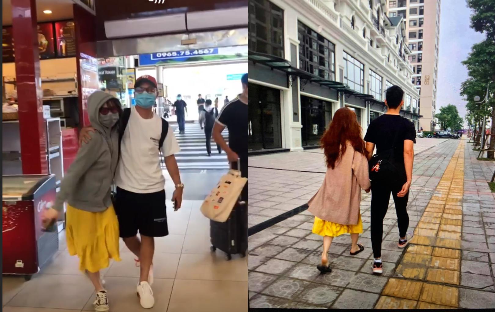 Trùng hợp thay, Huỳnh Anh đã từng diện chiếc váy vàng và đôi dép giống hệt cô gái bị tố là Tuesday