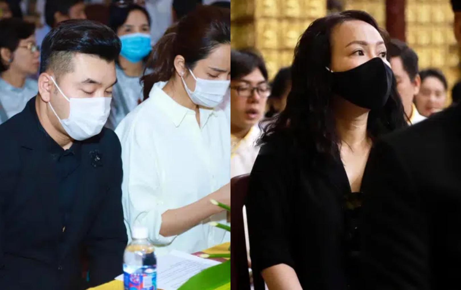 Dàn nghệ sĩ Việt tại tang lễ Vân Quang Long: Việt Hương, vợ chồng Ưng Hoàng Phúc không giấu nổi sự đau lòng