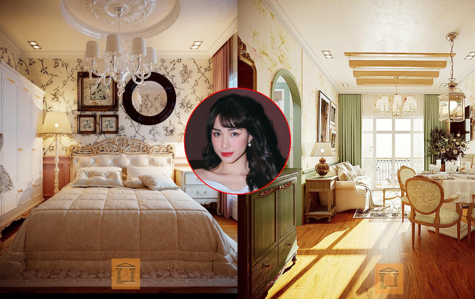 Hòa Minzy tậu nhà mới ở Hà Nội, nội thất đậm chất vintage châu Âu siêu xinh