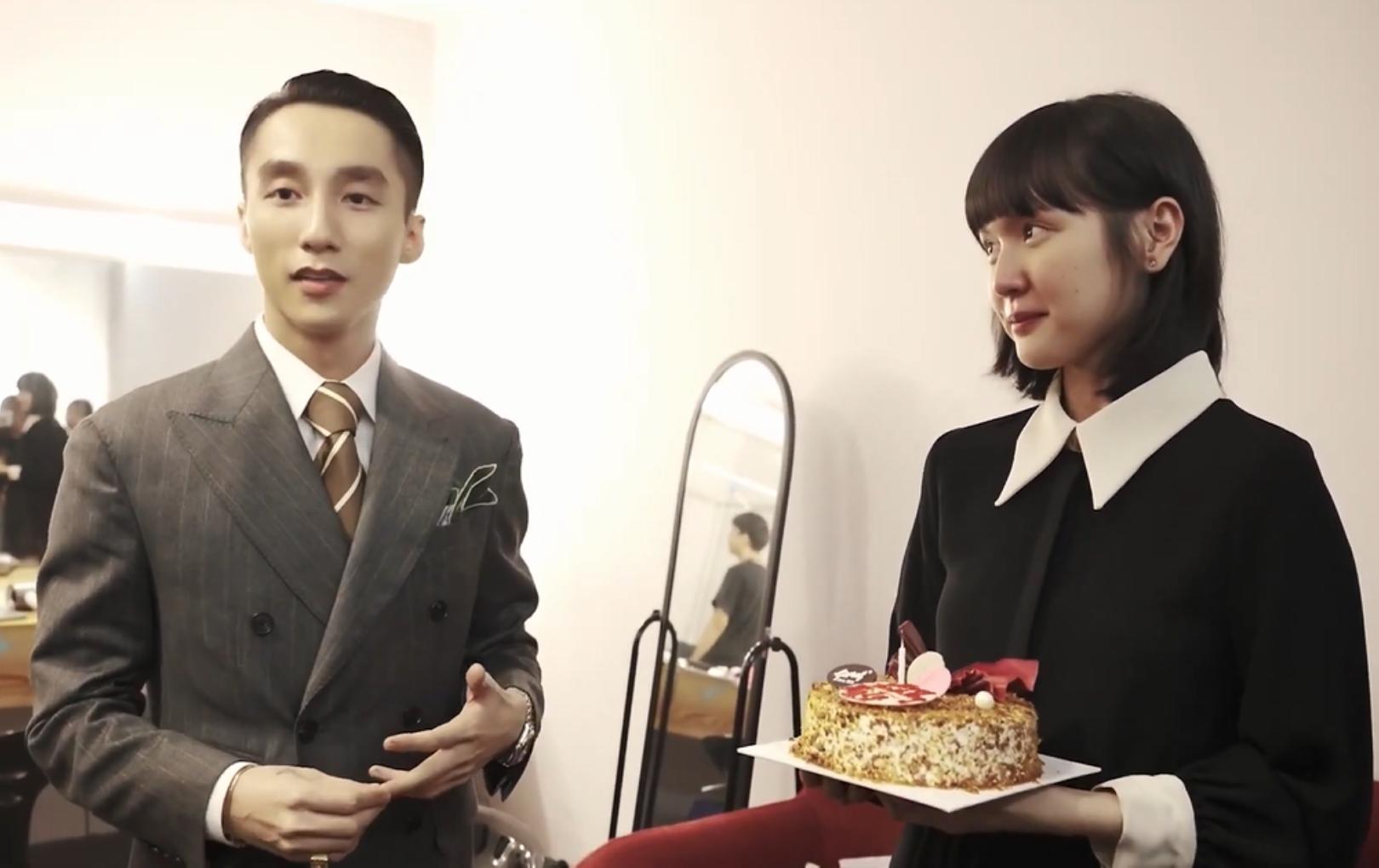 """Đích thân tổ chức sinh nhật cho Hải Tú nhưng Sơn Tùng M-TP vẫn giữ khoảng cách với """"gà cưng"""""""