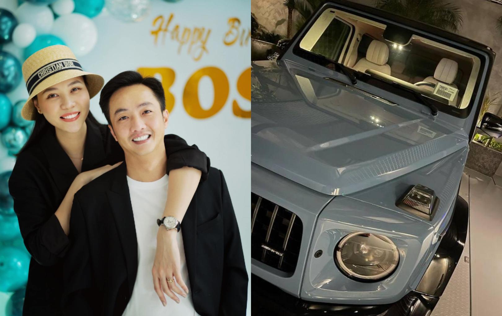 Đàm Thu Trang được Cường Đô La tặng siêu xe độc bản 11 tỷ đồng