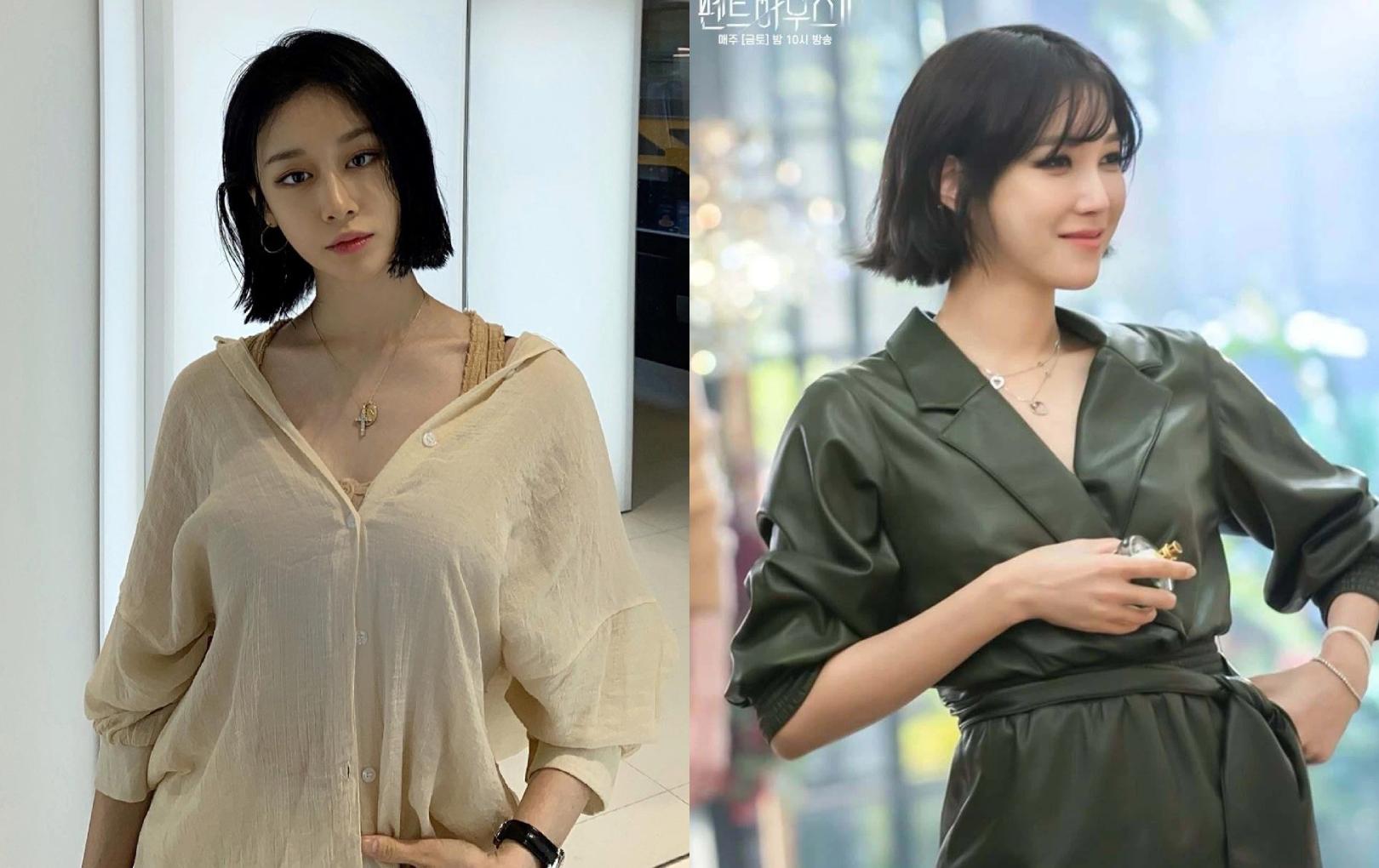 """Jiyeon (T-Ara) gây bão MXH khi để tóc ngắn sau 7 năm, nhìn hao hao Na Ae Kyo của """"Penthouse 2"""""""
