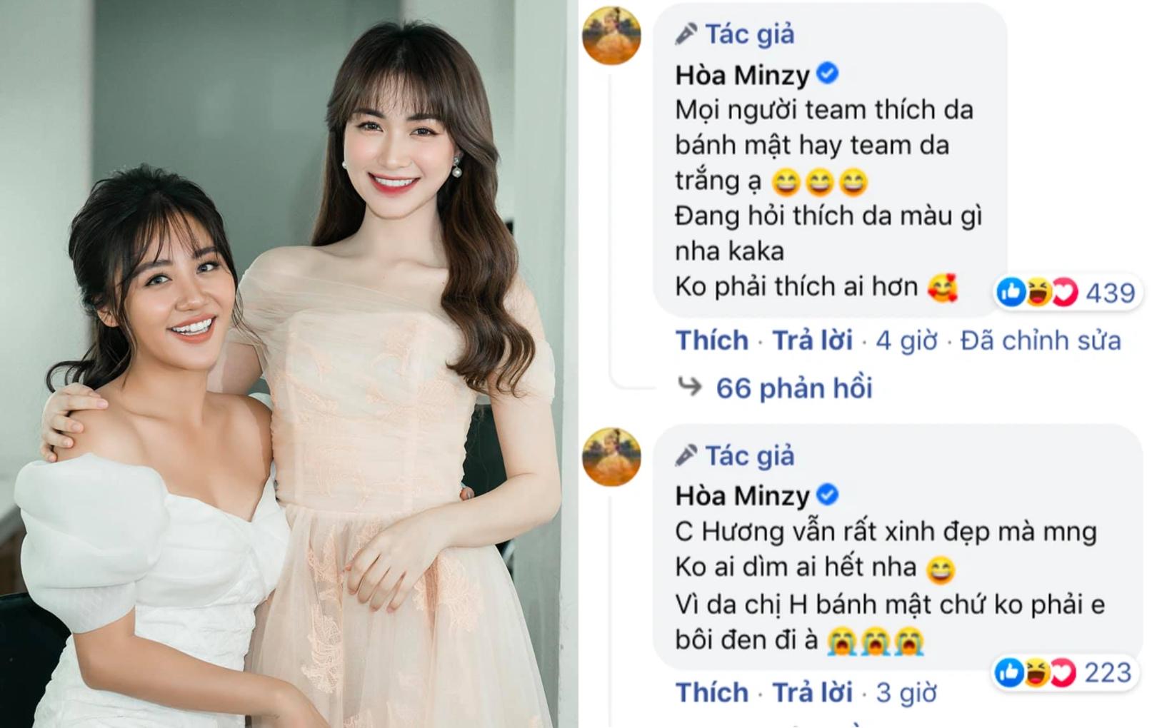 """Hòa Minzy vội vã đính chính khi bị nghi cố tình """"dìm hàng"""" Văn Mai Hương"""