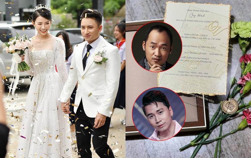 Karik, Tiến Luật, Độ Mixi là khách mời đám cưới Phan Mạnh Quỳnh ở TP.HCM