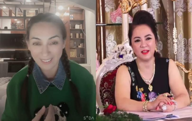 """Phi Nhung quay clip hát tặng bà Phương Hằng, nhắn nhủ: """"Em không làm gì có lỗi với lương tâm"""""""