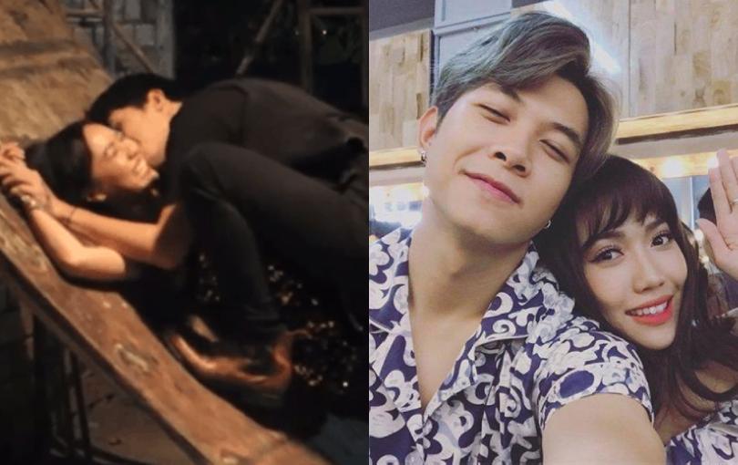 Lộ clip hiếm hoi Anh Tú nhiệt tình hôn hít Diệu Nhi, vợ chồng Thu Trang nhìn cũng phải 'đỏ mặt'