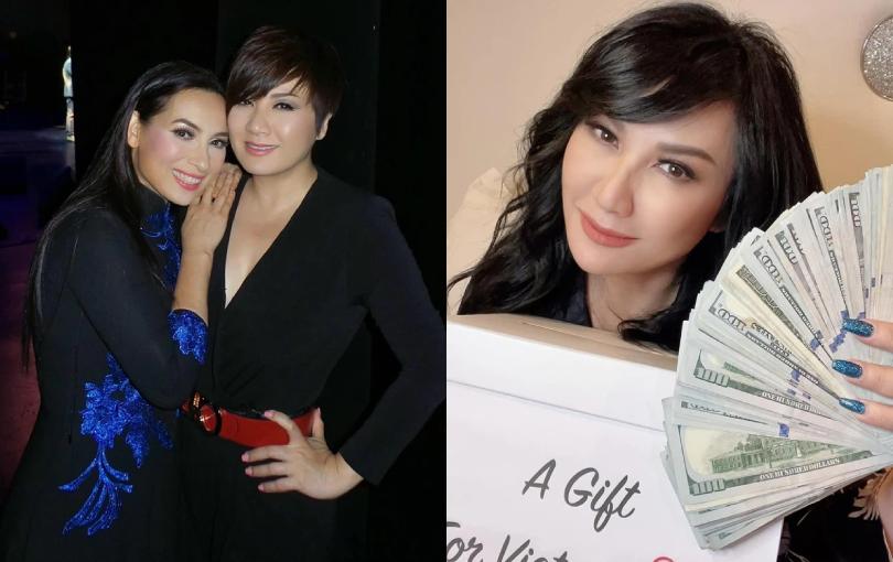 Vợ cũ Bằng Kiều dùng gần 500 triệu tiền mừng sinh nhật ở Mỹ làm từ thiện tại Việt Nam, tiết lộ lời động viên của con gái Phi Nhung