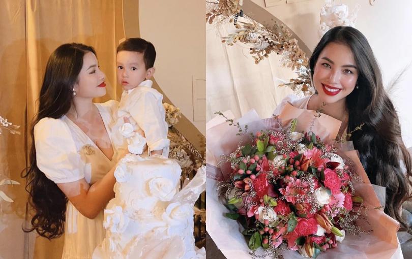 Phạm Hương đón sinh nhật 30 tuổi ở Mỹ trong không gian cực sang chảnh, nhan sắc kiều diễm của mẹ 2 con giật trọn spotlight!