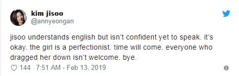 Không thể nói tiếng Anh và im lặng suốt buổi phỏng vấn, Jisoo bị CĐM quốc tế chỉ trích