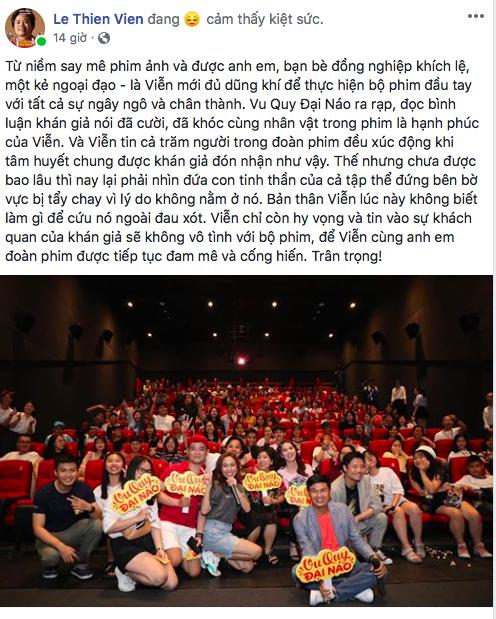 Phim Ngọc Trinh đóng bị tẩy chay vì Lâm Vinh Hải, đạo diễn kiệt sức: Không biết làm gì để cứu nó