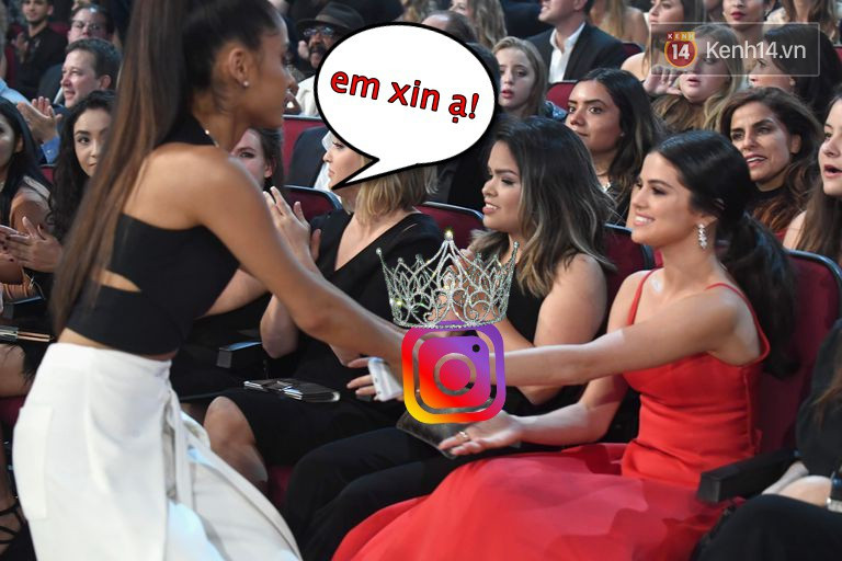 Selena Gomez không còn là nữ hoàng Instagram, ngôi vị đã được trao lại cho Ariana Grande