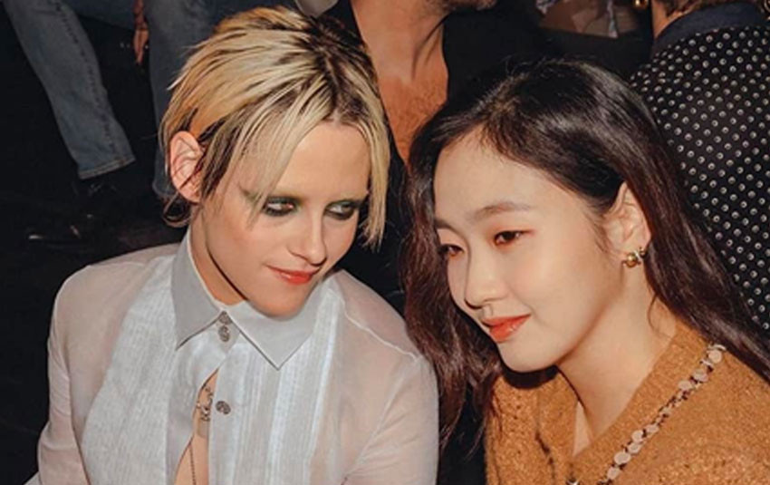 Vợ ma cà rồng chạm mặt cô dâu của yêu tinh: Kristen Stewart dường như trúng tiếng sét ái tình với Kim Go Eun?