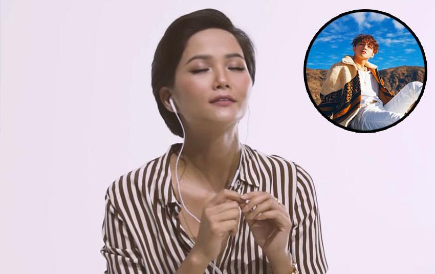"""H'Hen Niê bấn loạn, liên tục gọi """"sếp nhà mình"""" khi là Sky đầu tiên được đặc cách nghe bài hát mới của Sơn Tùng"""