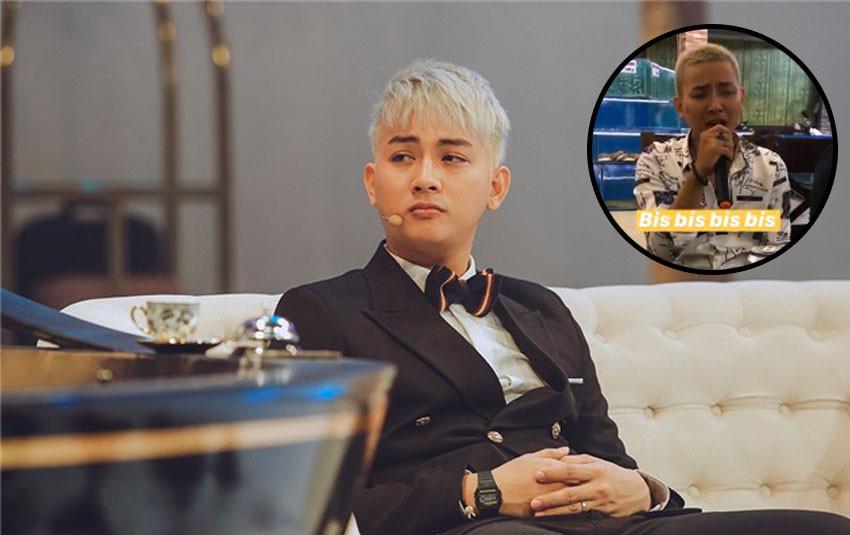 Sau cú xuất hiện cùng quần áo rộng thùng thình, Hoài Lâm cắt đầu đinh, nhuộm vàng bạch kim trông khác lạ hoàn toàn