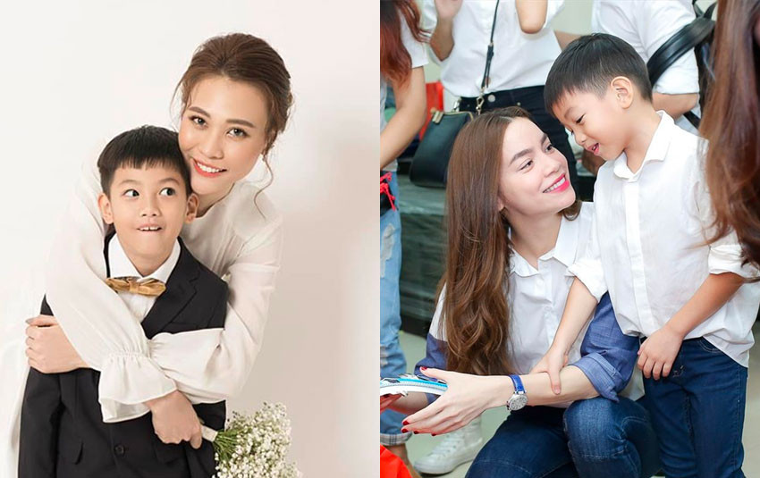 """Đàm Thu Trang vẫn giao tiếp bình thường với Hồ Ngọc Hà nhưng thừa nhận: """"Với Subeo, chỉ có Hà là mẹ ruột"""""""