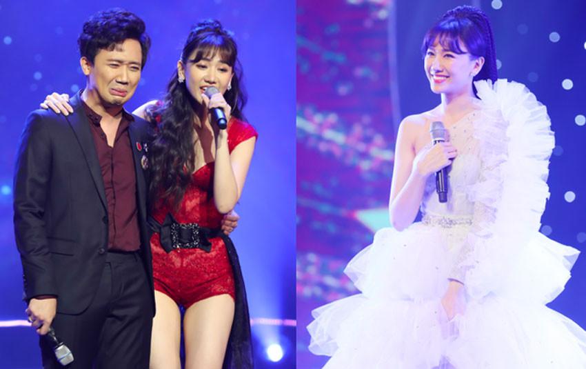 """Trấn Thành """"phá"""" kịch bản concert, dành tặng cho Hari Won điều bất ngờ khiến cô cảm động rơi nước mắt"""