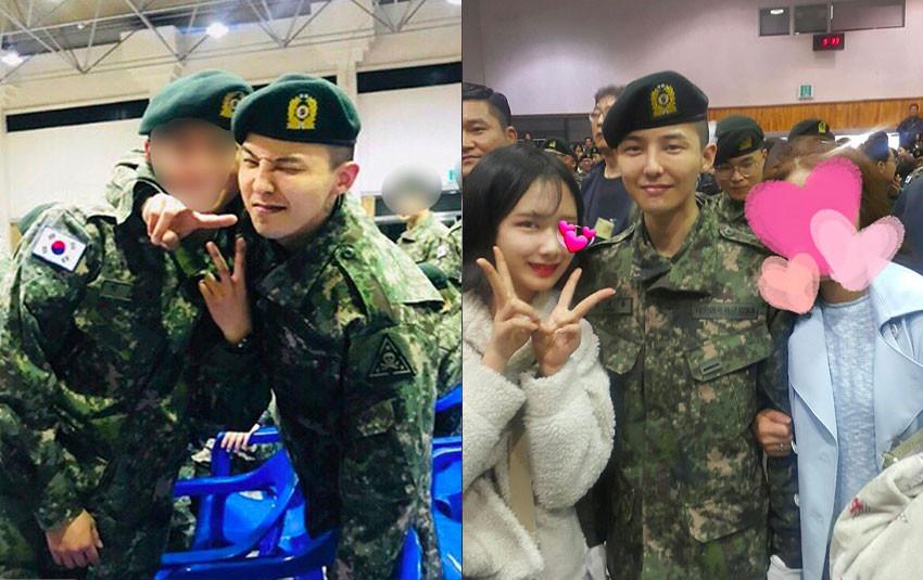Lộ ảnh mới nhất của G-Dragon trong quân ngũ, các V.I.P xúc động khi thấy anh nhà tròn trịa, tươi cười