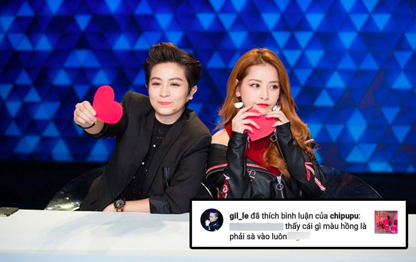 """Không còn sánh bước bên nhau, Gil Lê đột ngột """"thả tim"""" bình luận của Chi Pu trên Instagram"""