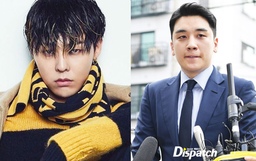 Bức ảnh G-Dragon đăng lên mạng trước ngày xuất ngũ bị cho là lời ám chỉ đến cựu thành viên Seungri