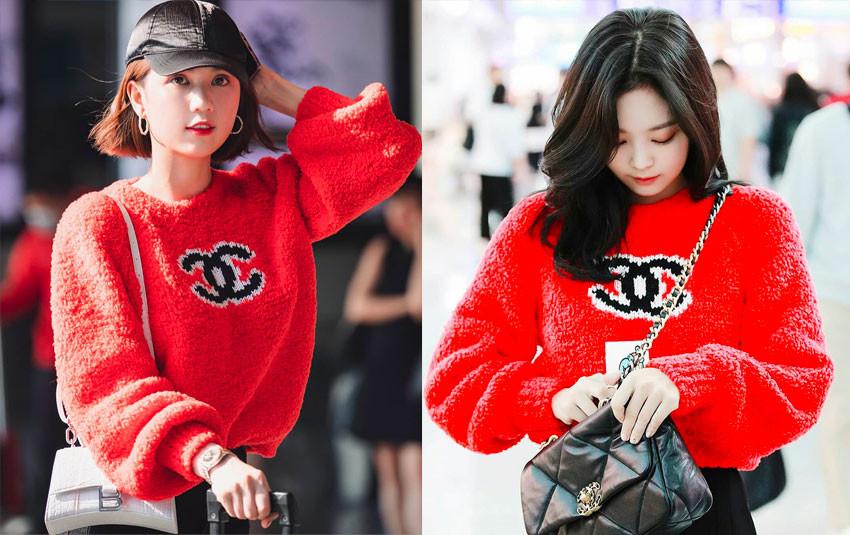 """Ngọc Trinh """"đụng hàng"""" nguyên bộ outfit với Jennie: """"Nữ hoàng nội y"""" hay """"Chanel sống"""" xuất sắc hơn?"""