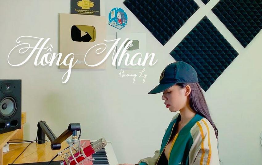 """Không còn bắt trend bài hát mới, Hương Ly tung đoạn cover bài hit """"Hồng nhan"""" ra mắt cách đây 8 tháng"""