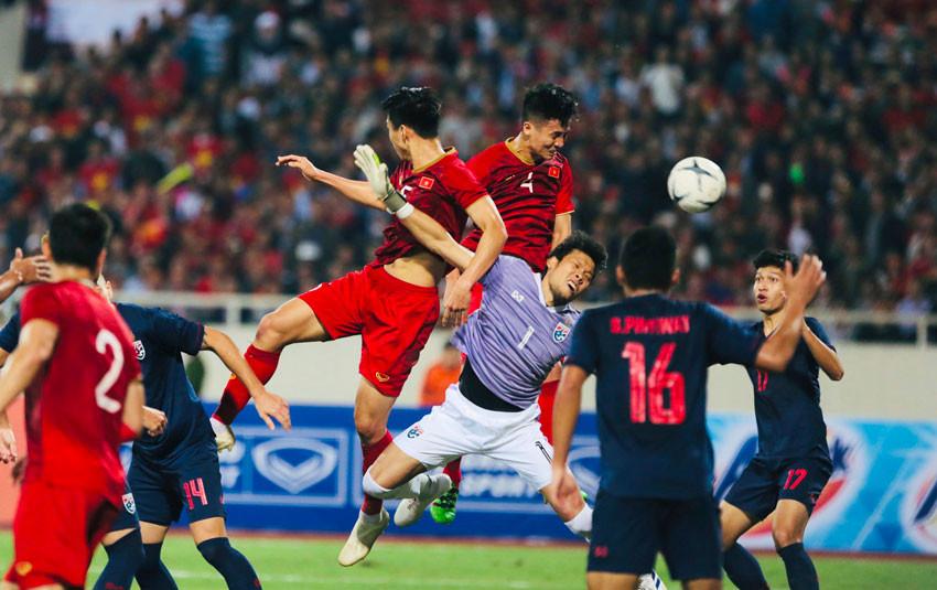 Cận cảnh bàn thắng không được công nhận của Việt Nam: Các cầu thủ có thực sự phạm lỗi?
