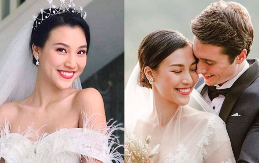 """Nhìn profile Hoàng Oanh và chồng ngoại quốc mới thấy: Đúng là cặp đôi """"trai tài gái sắc"""" trong truyền thuyết"""
