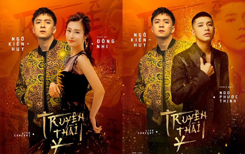 Đông Nhi, Noo Phước Thịnh, Jun Phạm, Ninh Dương Lan Ngọc... xác nhận góp mặt trong liveshow 10 năm ca hát của Ngô Kiến Huy