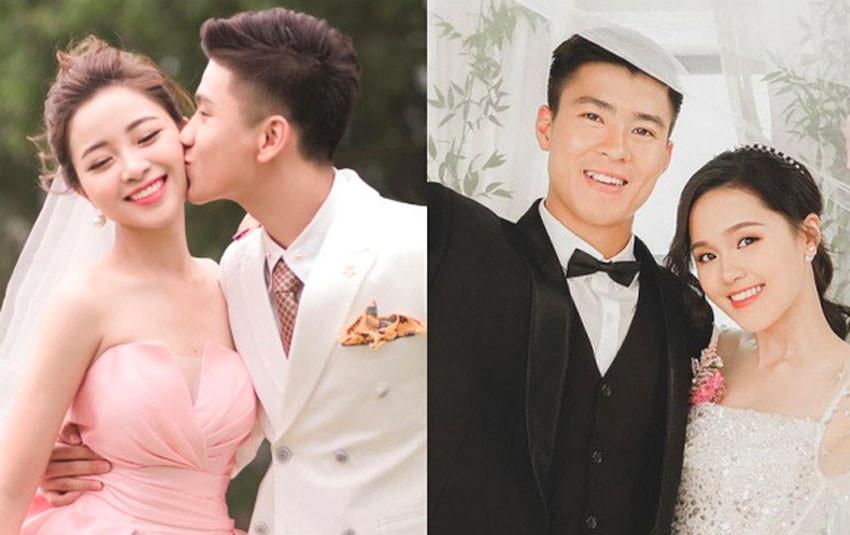 Ảnh cưới của các chân sút Việt Nam: Duy Mạnh chọn studio nổi tiếng chụp cho Đông Nhi, Trấn Thành; Phan Văn Đức đẹp trai trong bộ vest tao nhã