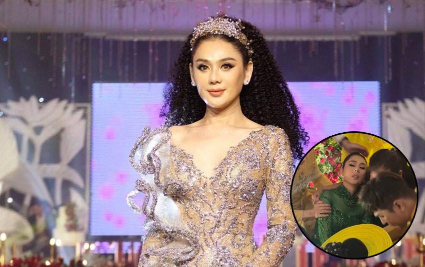 Kiệt sức vì tổ chức lễ cưới tập thể cho cộng đồng LGBT, Lâm Khánh Chi ngất xỉu giữa buổi tiệc