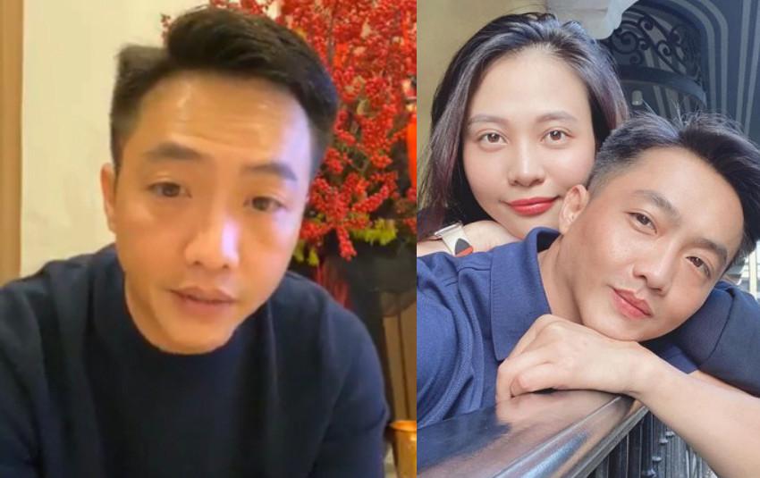 Cường Đô La chính thức lên tiếng về tin đồn mang thai của bà xã Đàm Thu Trang