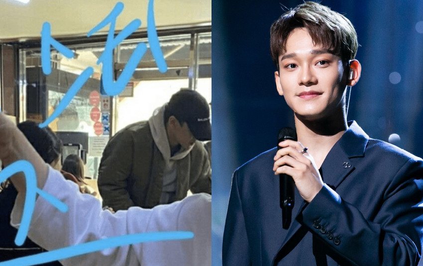 Chen (EXO) bình thản đi ăn khuya với bạn gái sắp cưới khiến netizen Hàn nổi giận