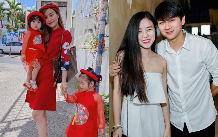 Hoài Lâm bị antifan mỉa mai bỏ bê con cái ngày Tết liền được bà xã Bảo Ngọc lên tiếng bênh vực