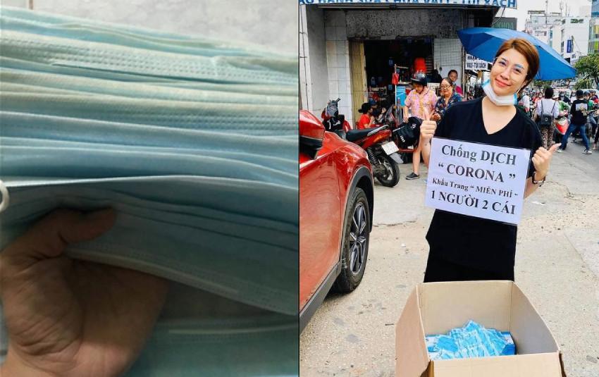 """Pha Lê """"cạn lời"""" khi mua phải hộp khẩu trang đã qua sử dụng giữa đại dịch cúm Corona"""