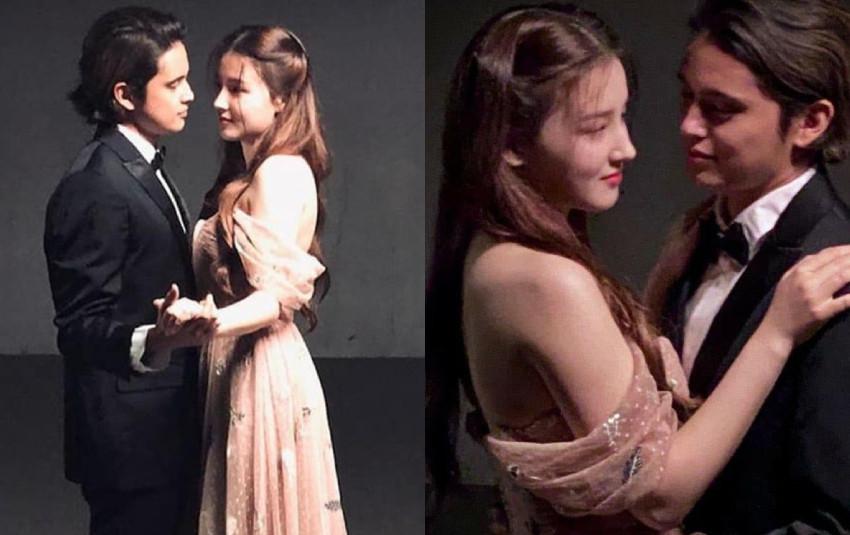 """Hé lộ tạo hình siêu xinh đẹp của """"thiên thần lai"""" Nancy (MOMOLAND) trong phim đóng cùng với nam thần người Philippines"""