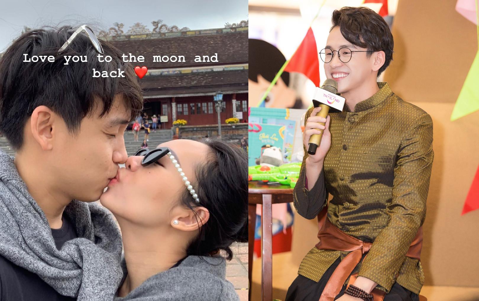 """MC Quang Bảo công khai bạn gái """"đại gia"""" sau khoảng thời gian giấu kín"""