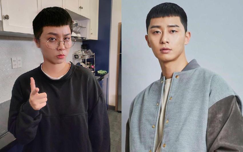 Theo trend Tầng lớp Itaewon, MisThy xuống tóc phong cách Park Seo-joon, đòi làm anh chủ của Linh Ngọc Đàm