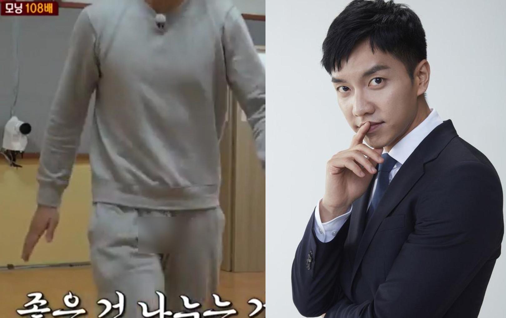 """""""Chàng rể quốc dân"""" Lee Seung Gi bất ngờ lộ vùng """"nhạy cảm"""" ngay trên sóng truyền hình"""