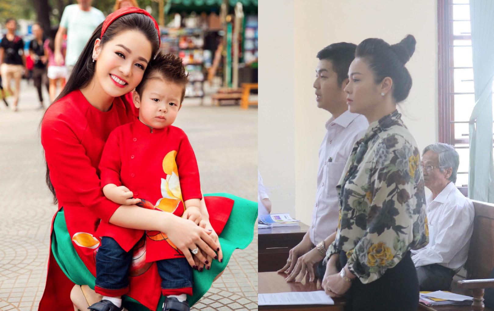 Chồng cũ Nhật Kim Anh đòi kháng cáo sau khi bị xử thua ở phiên tòa sơ thẩm trong vụ giành quyền nuôi con