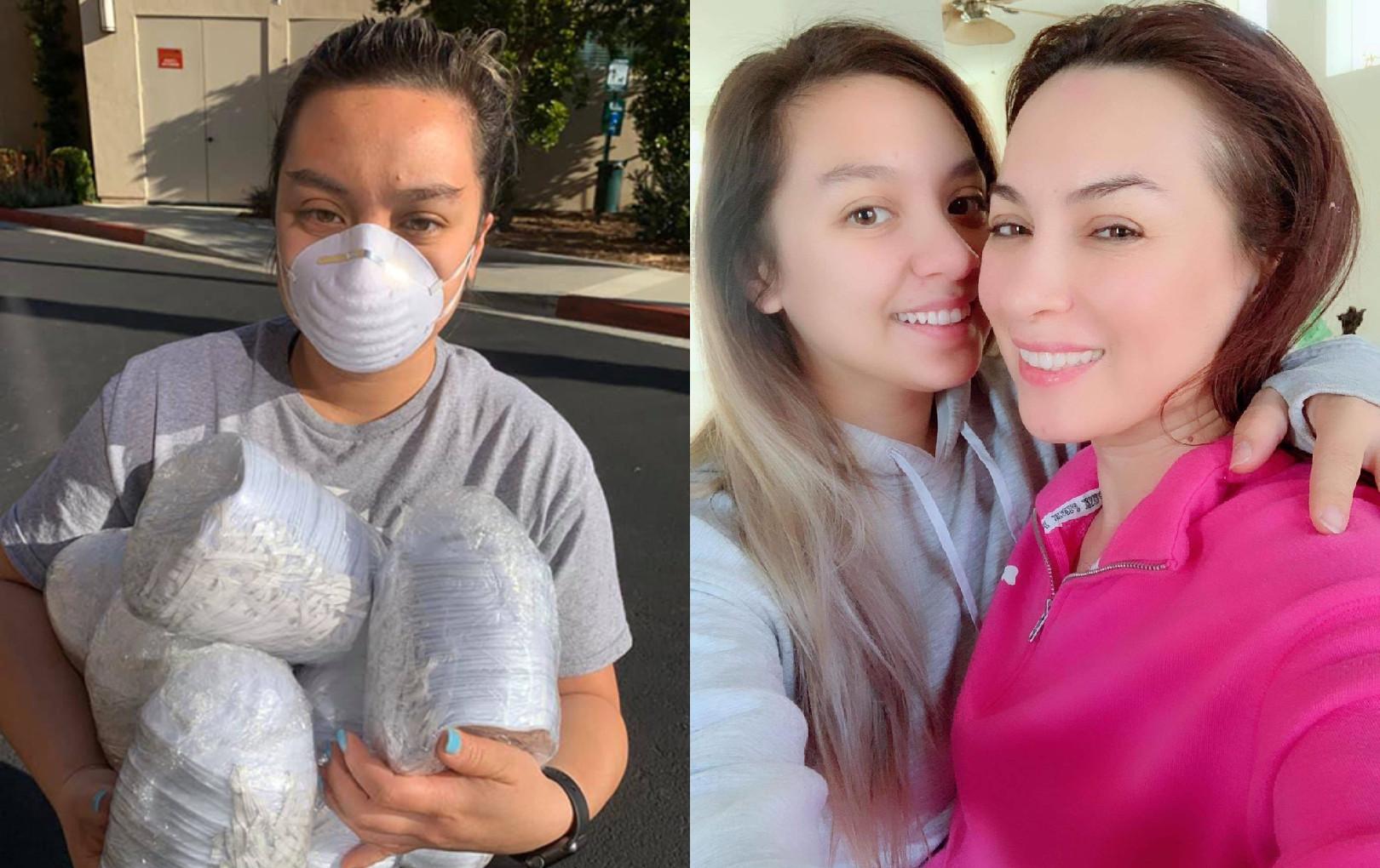 """Phi Nhung nghẹn ngào gửi 400 khẩu trang cho con gái đang làm y tá ở Mỹ: """"Mẹ chỉ làm được như vậy"""""""